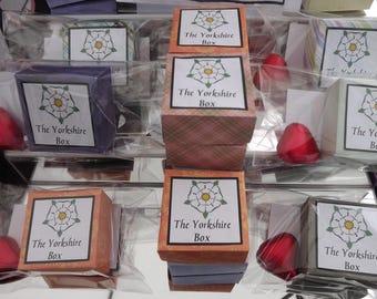 The Little Box of Yorkshire - Yorkshire Souvenir, Gift, Sentimental gift, Handmade