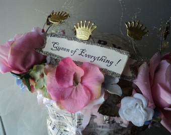 mothers day crown, Queen of Everything