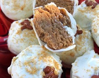 Iced Gingerbread Truffle