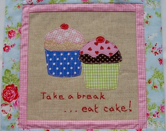 Cupcake fabric picture