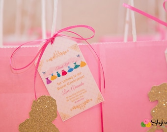 Disney Princess Inspired Gift Tags