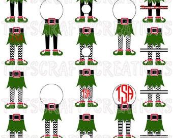 Christmas Elf SVG, elf svg files, elf files, elf png, elf svg cricut, elf cut files, elf silhouette, elf svg, elf legs, dfx/eps/svg/studio3
