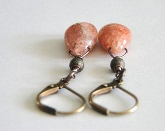 Women's Earrings, Jewelry, Gemstone Earrings, Valentine's Day Gift, Dangle Earrings, Gemstones, Earring Accessories