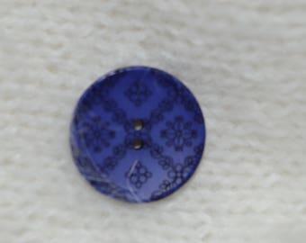 button round fancy 23 mm diam.