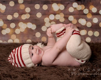 Christmas knit kit for baby