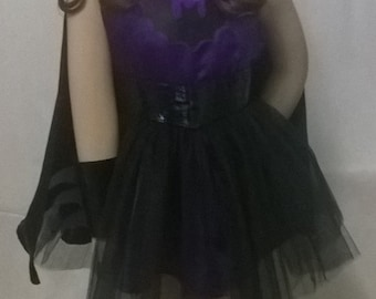Bat Girl Costume -- Made to order