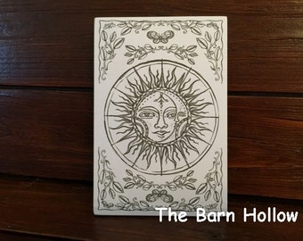"""Adult Coloring - """"Creation"""" Postcard"""