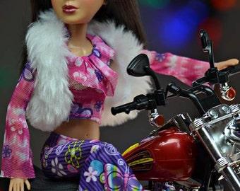 Fashion Doll Photography, Liv Doll Photos, Fine Art Photography, Toy Photography, Biker Fashion Doll Photo, Barbie Doll Photos, Still Life