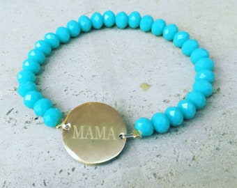 Mama Bracelet Beaded Bracelet Gift for her Mothers day Special Gift Mother Jewelry