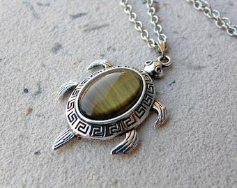 Sea Turtle Necklace, turtle necklace, turtle choker, turtle lover gift idea, tortoise necklace, Gemini, Leo, Taurus, Virgo , Venus Necklace