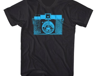 Camera Shirt Vintage Diana Camera. Printed on Ultra Soft Ringspun Cotton