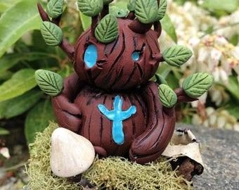 Woodling Forest Spirit Collectible Fantasy Art Sculpture Creature Figure