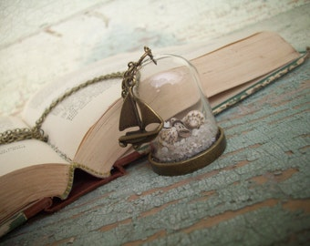 Beach Wedding - Seashell Necklace - Beach Inspired Jewelry - Necklace
