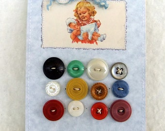Vintage Button Collection