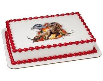 Jurassic World Wow Factor Edible Cake Topper
