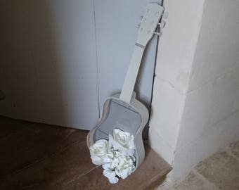 Prelude to a concerto. Child revisited object guitar decor shabby