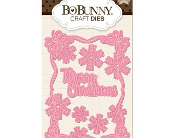 BoBunny Essentials Dies - Christmas Card
