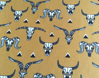 Jersey fabric printed organic cotton by the meter-Buffalo-sales/promos head