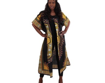 Dashiki Long Cover Up Jacket