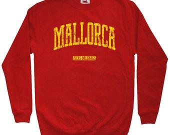 Mallorca Spain Sweatshirt - Men S M L XL 2x 3x - Crewneck, Gift, Mallorca Sweater, Majorca España, Palma Beach, Spanish, La Balanguera, ES