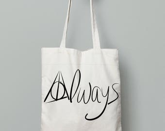 Always- Harry Potter Themed Tote