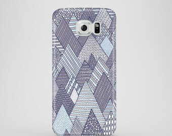 Winter pines mobile phone case / Samsung Galaxy S7, Samsung Galaxy S6, Samsung Galaxy S6 Edge, Samsung Galaxy S5 / christmas phone case
