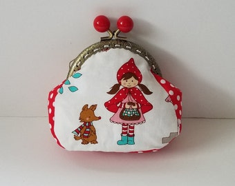 Little Red Riding Hood Coin Purse