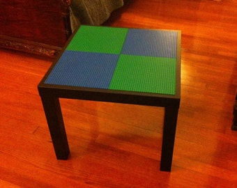 """Lego Table 21"""" by 21"""" (Custom color options)"""