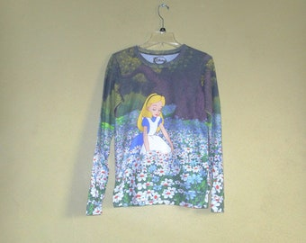 Alice in Wonderland Long sleeve Size Small