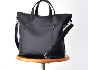 MARTINA BAG Borsa a tracolla, borsa pelle, borsa rossa, borsa di pelle con zip, tracolla in pelle, borsa primavera