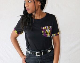 Ruffle Pocket tshirt