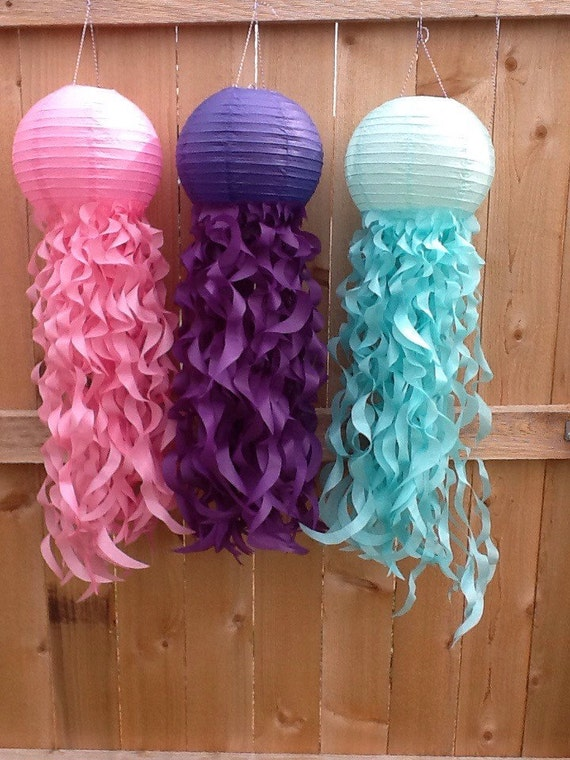 Mermaid Party Jellyfish Decorations-Under the sea Party