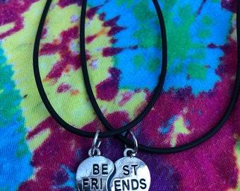 Best Friends adjustable necklaces