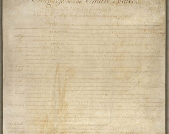 Poster, Many Sizes Available; United States Bill Of Rights