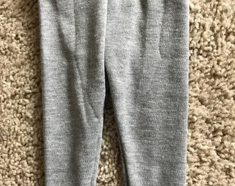 "18"" Doll Gray Leggings"