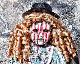 Rue (21 Inch OOAK Porcelain Horror Doll)