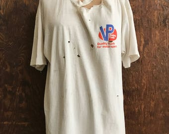 Perfectly trashed VP Racing vintage tee