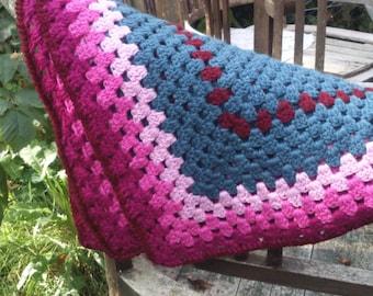 Baby blanket crochet easy