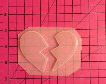 BFF Heart Mold