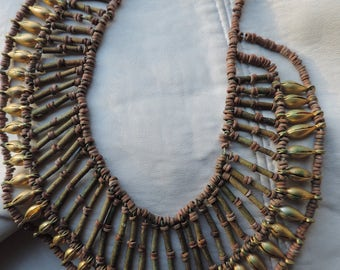 antique egyptian revival necklace