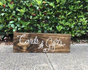 Wedding sign,Quinceañera sign, party sign-cards & gifts