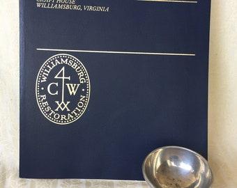 Colonial Williamsburg open salt