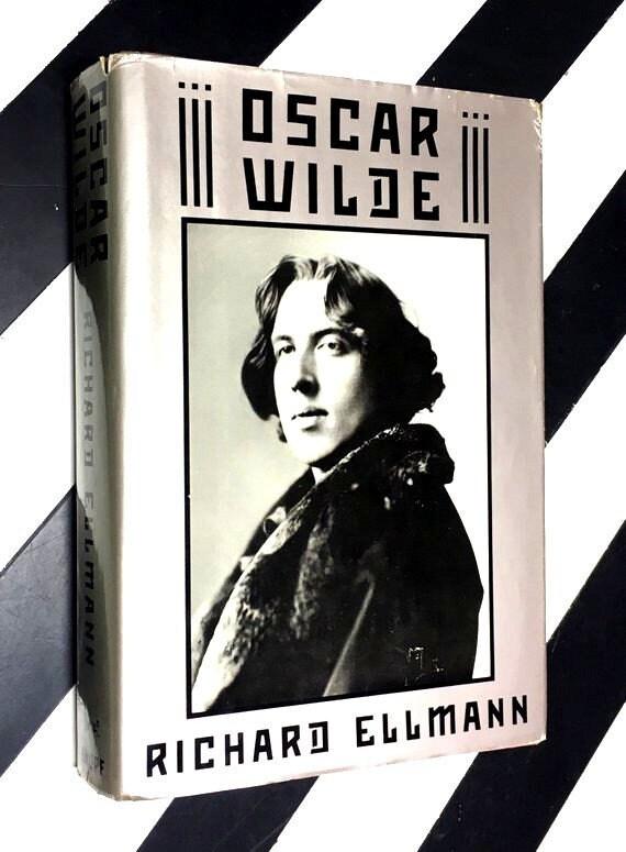 Oscar Wilde by Richard Ellman (1988) hardcover book