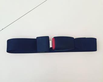 SEATBELT fasten OS custom unique piece handmade