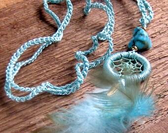 Dream Catcher Necklace Long Layering Necklace Bohemian Jewelry,Boho Jewelry