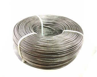1/8 Cable Strand 1×19 - T316 'Marine Grade' Stainless Steel - 1,000′ Feet