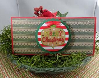 Christmas Money Holder, Money Card, Christmas Money Card
