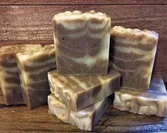Supergreens, Mango Butter & Bentonite Clay,  Lavender Essential Oil Soap