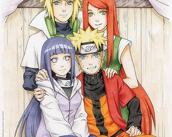 Naruto Family Portrait I