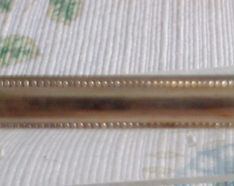 Old Bar Brooch with Hobnail Edges